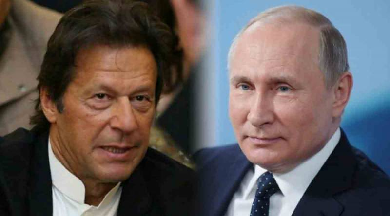 وزیراعظم اور روسی صدر کے درمیان رابطہ، افغانستان کی تعمیر و ترقی پر تبادلہ خیال