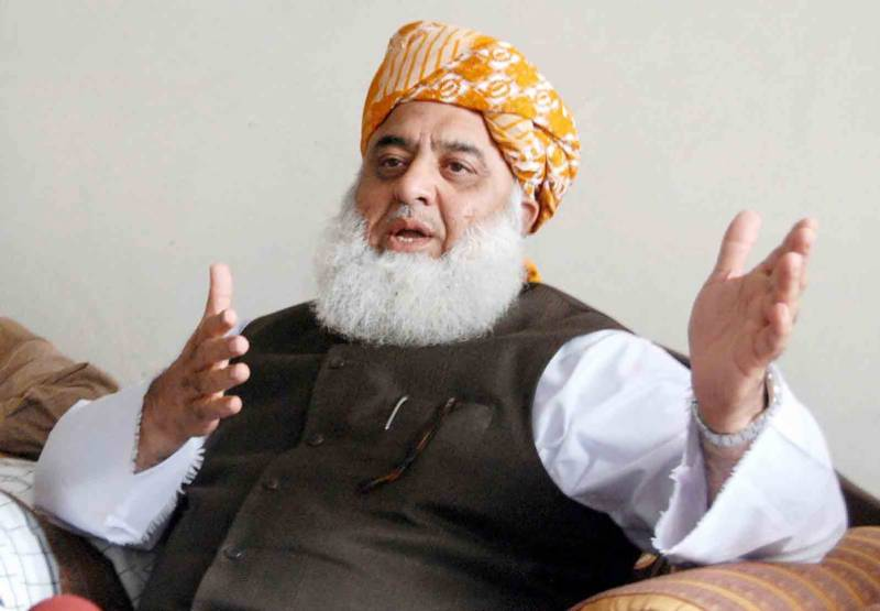 استعفے نہ دینے کا طعنہ دینے والے عدم اعتماد کیوں پیش نہیں کرتے، مولانا فضل الرحمان