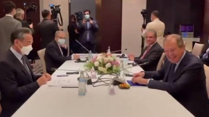 افغانستان کے 4 اہم ہمسایہ ممالک کے وزرائے خارجہ کا اجلاس