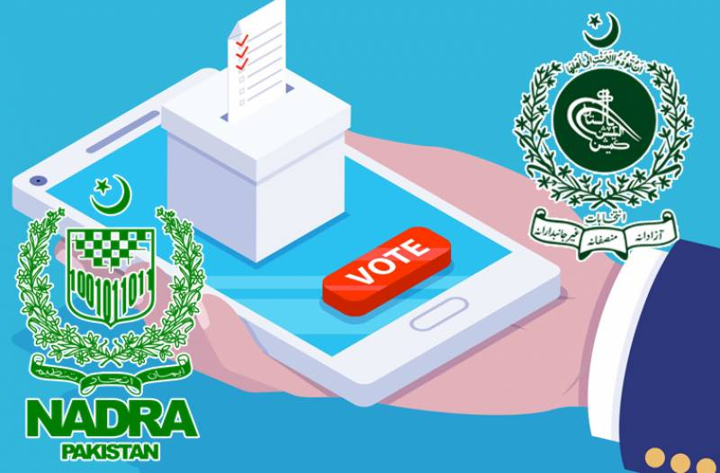 الیکشن کمیشن اور نادرا آمنے سامنے