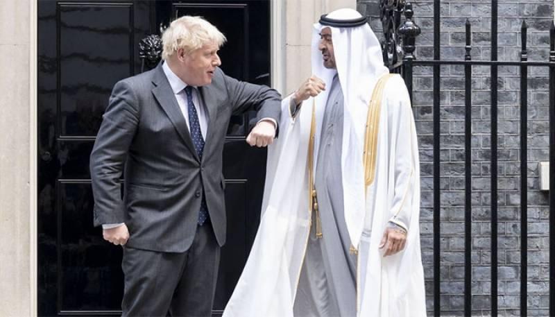 Muhammad bin Zaid,UAE,UK Prime Minister,Bors Jhonson,Prime Minister Boris Johnson,UAE & the UK