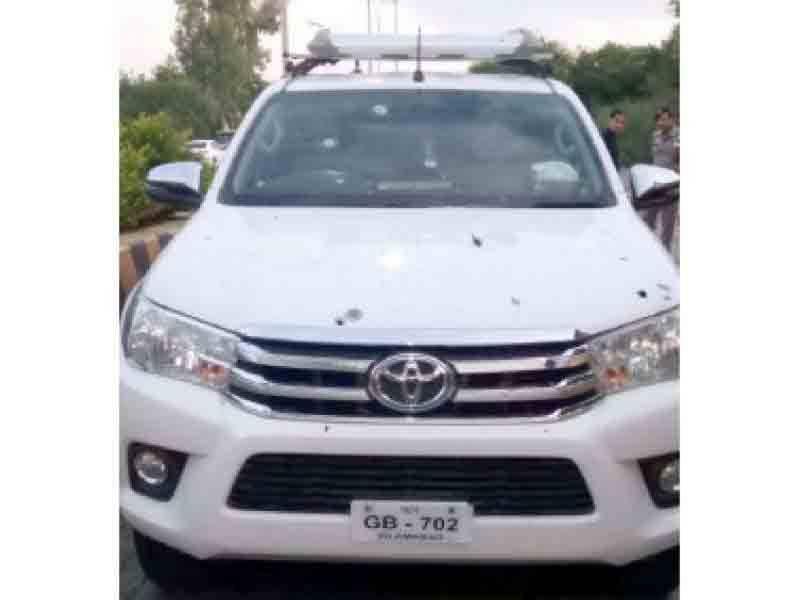 پولیس نے ایڈیشنل آئی جی موٹروے کی گاڑی پر فائرنگ کرنے والا ملزم گرفتار کر لیا