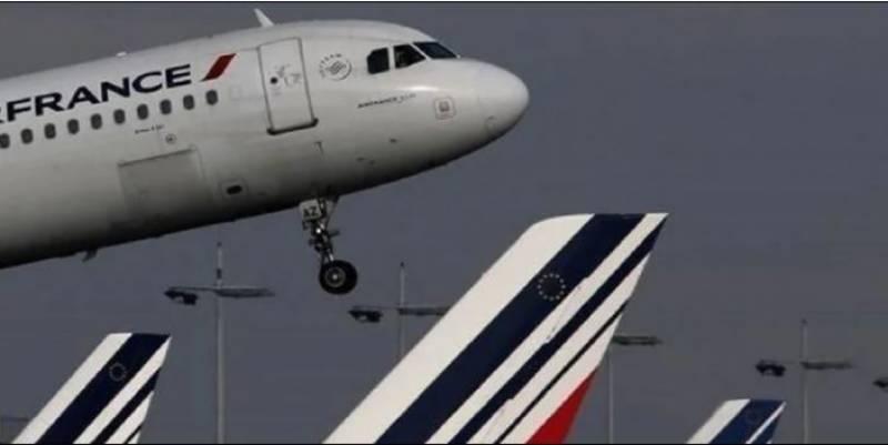 ائر فرانس کے طیارے میں آگ بھڑک اٹھی ، چین میں ہنگامی لینڈنگ