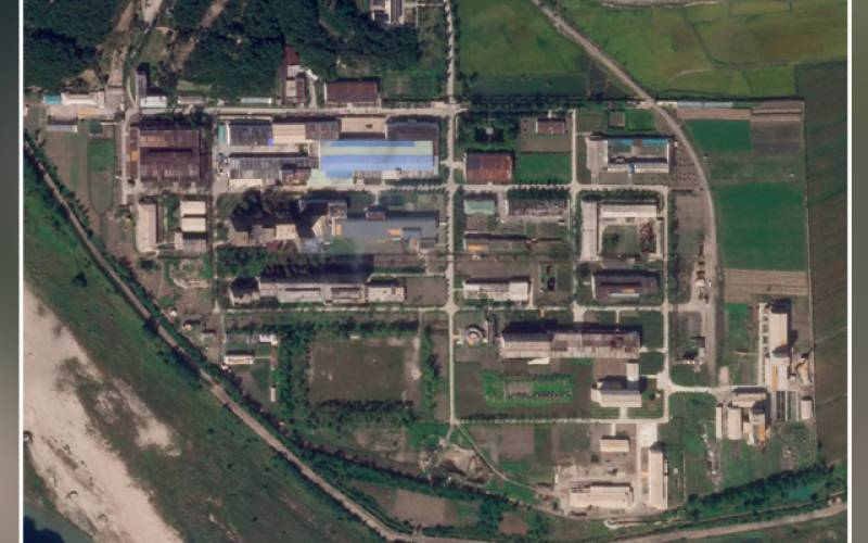 Satellite, images, North Korea, Yongbyon, nuclear facility, US
