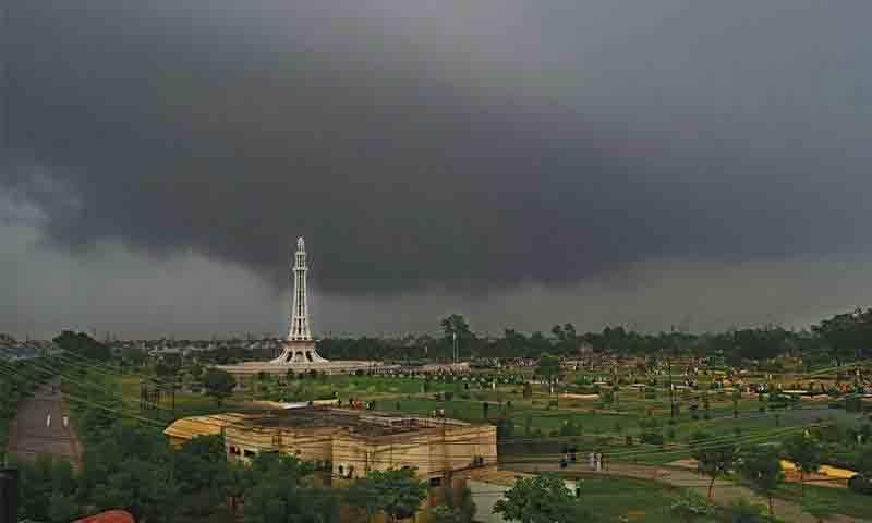 آئندہ ہفتے سے ملک کے مختلف علاقوں میں موسلا دھار بارش ہو گی، محکمہ موسمیات