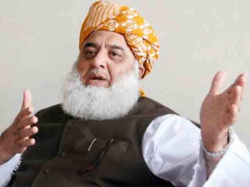 مولانا فضل الرحمان کا طالبان حکومت کو فوری طور پر تسلیم کرنے کا مطالبہ