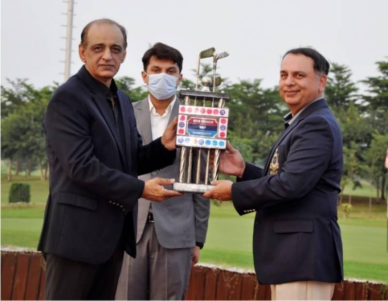 Pakistan Air Force, Inter Services Golf Championship, Air vice Marshal Zaffar Aslam, Air vice Marshal Ikran Noor