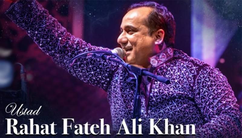 Rahat Fateh Ali Khan,Rahat in UK