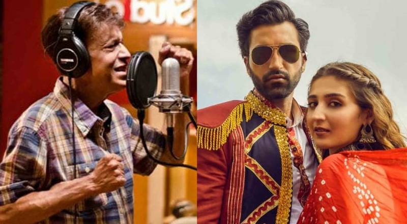بھارتی گلوکارہ نے پاکستانی گلوکار عالمگیر کے مقبول گانے کی دُھن چوری کر لی