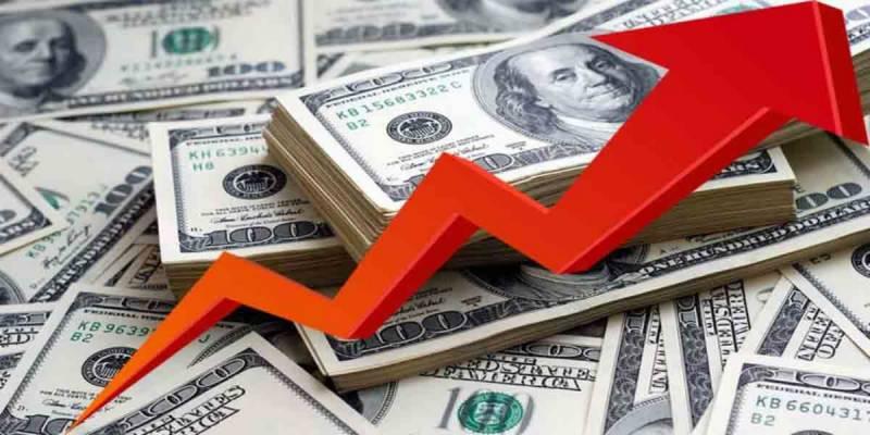 ڈالر کی اڑان جاری، 169 روپے 97 پیسے ہو گیا