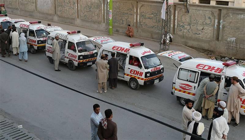 Karachi,Sindh,Baluchistan Traffic incident
