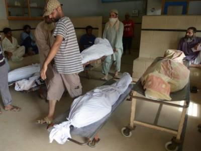 کراچی میں ایک گھنٹے میں فائرنگ کے مختلف واقعات میں 5 افراد جاں بحق