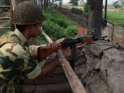 بھارت کو پھر جنونیت کا دورہ،کنٹرول لائن پر وقفے وقفے سے گولہ باری