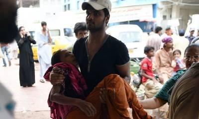 گزشتہ سال گرمی کی لہر سے پاکستان میں1200افراد ہلاک ہوئے