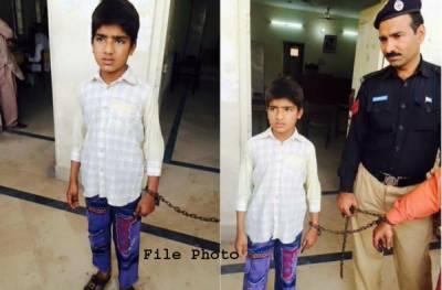 لاہور میں 8 سالہ بچے پر2 افراد کے قتل کا مقدمہ درج کرلیاگیا