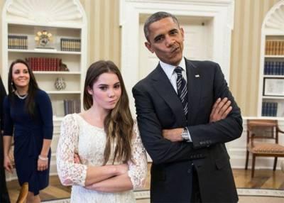 صدراوباما کے دورصدارت کی 20 لاکھ تصاویرمیں سے چند دلچسپ تصاویر