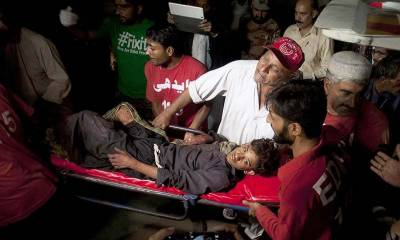 درگاہ شاہ نورانی دھماکے میں جاں بحق ہونے والے افراد کی تعداد 52 ہو گئی