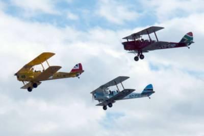 یونان سے وینٹج طیاروں کی منفرد ریس کا آغاز