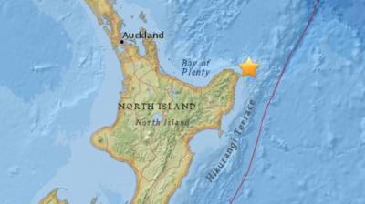 نیوزی لینڈ میں خوفناک زلزلہ،لوگوں میں خوف و ہراس