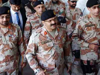 ڈی جی رینجرز سندھ زخمیوں کی عیادت کیلئےسول ہسپتال پہنچ گئے