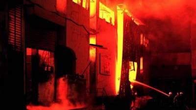 نجی فیکٹر ی میں سلنڈر دھماکا،دو افراد ہلاک