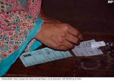 سابق ممبر قومی اسمبلی کو مخصوص نشستوں کی پولنگ میں حصہ لینے کی اجازت