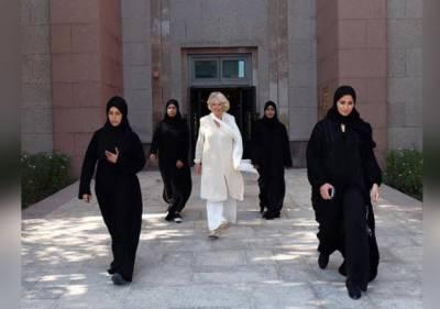 برطانوی شہزادی کمیلا پارکر کی حفاظت کےلئے خواتین گارڈز تعینات