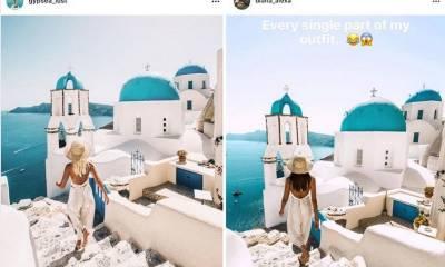 پوری دنیا میں گھوم کر تصاویری بنانے والی خاتون اپنی تصاویر کی نقل پر پریشان