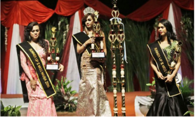 انڈونیشیا میں خواجہ سراؤں کا مقابلہ حسن