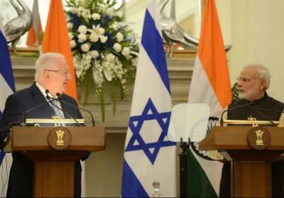 بھارت اور اسرائیل کے دفاعی تعاون میں اضافہ، دہشت گردی کے خلاف بھی مشترکہ کاروائیوں پر اتفاق