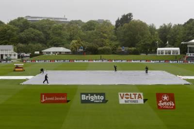 کرائسٹ چرچ ٹیسٹ : پہلے دن کا کھیل بارش کے باعث منسوخ