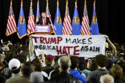 امریکہ میں ٹرمپ کے خلاف احتجاج،طلبا بھی شامل