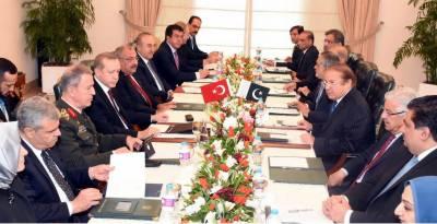 پاکستان اور ترکی دو طرفہ تعلقات مزید مضبوط بنانے پر متفق
