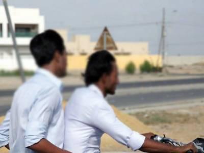 چہلم امام حسین رضی اللہ تعالی عنہ کے موقع پر حکومت سندھ نے دو روز کے لئے ڈبل سواری پر پابندی عائد کر دی
