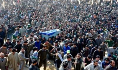 مقبوضہ کشمیر میں بھارت کی ریاستی دہشت گردی عروج پر