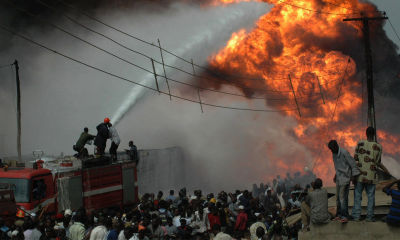 موزمبیق میں آئل ٹینکر دھماکے سے 73 افراد ہلاک