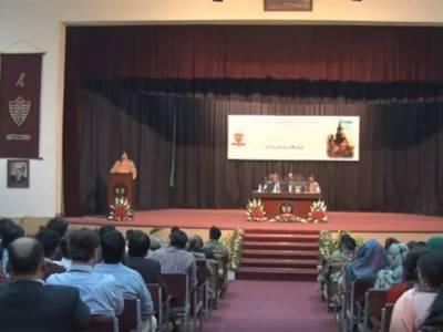 آرمی چیف کا لاہور میں گورنمنٹ کالج یونیورسٹی کا دورہ