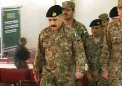 دہشت گردی پر قابو پانے میں کچھ خطرات باقی ہیں: کور کمانڈر پشاور