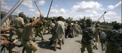 کشمیر میں کرفیو کا 134واں روز، احتجاج میں 24 نومبر تک توسیع