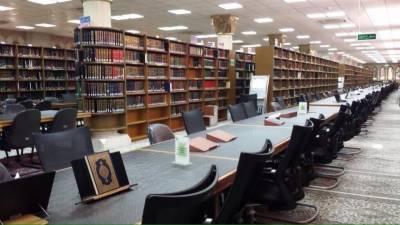 مسجد نبوی کی تاریخی لائبریری، ڈیڑھ لاکھ کتب، 600 قرآنی نسخوں سے مزین