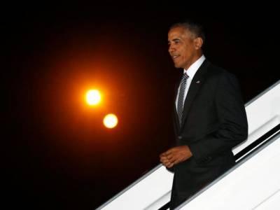 اوباما بطور صدر اپنے آخری غیرملکی دورے پر پیرو پہنچ گئے