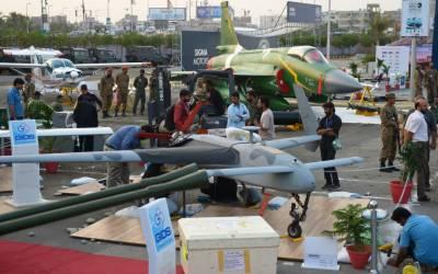 کراچی میں دفاعی نمائش آئیڈیاز 2016ء کا دوسرا دن