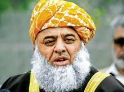 مولانا فضل الرحمن بیمار، لاہور کے ہسپتال میں داخل