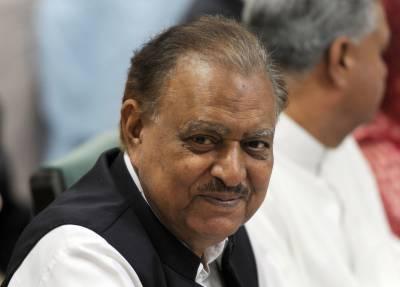 کراچی میں امن کا قیام حکومت کی اولین ترجیح ہے,صدر ممنون حسین