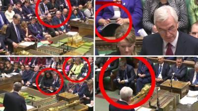 برطانوی پارلیمنٹ میں دوران اجلاس اراکین موبائل سے کھیلتے رہے