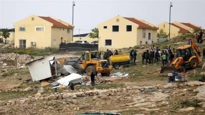 فلسطینی علاقوں میں یہودی بستیوں کی تعمیر میں تیزی