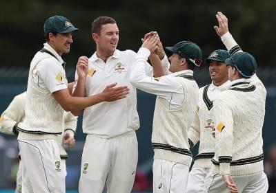 جنوبی افریقن ٹیم آسٹریلیا کے خلاف ڈے نائٹ ٹیسٹ میچ میں مشکلات کا شکار