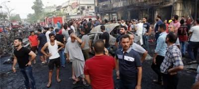 بغداد میں خود کش کار بم دھماکا،80افراد ہلاک