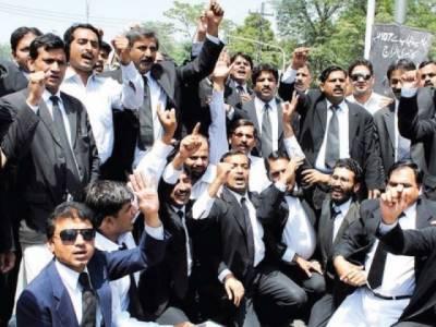 وکلا ء کالونی کی مختص اراضی پر با با گورو نانک انٹر نیشنل یونیورسٹی تعمیر کرنے کے مجوزہ منصوبے کے خلاف ڈسٹرکٹ بار ننکانہ صاحب کے وکلاء کی مکمل ہڑتال