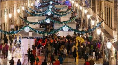 وِنٹر فیسٹیول،کروشیا کے شہر کو دلہن کی طرح سجا دیا گیا